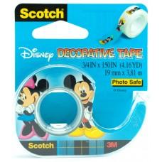 Κολλητική Ταινία Διακοσμητική Mickey Mouse 3M