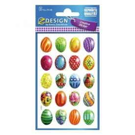 Αυτοκόλλητα Πασχαλινά Αυγά 60τεμ.