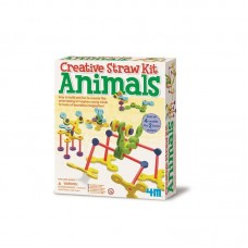 Creative Straw Kit Animals