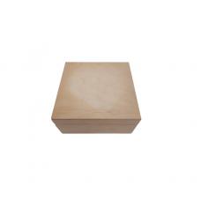 Κουτί Ξύλινο Χειροτεχνίας 13x13x5,5cm