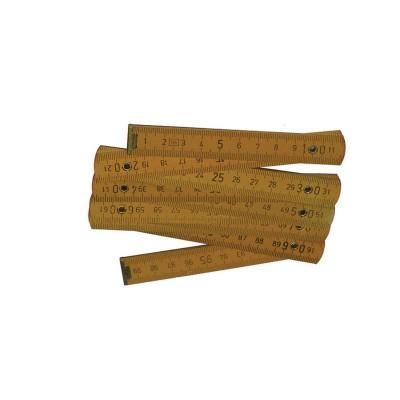 Μέτρο Ξύλινο Σπαστό (1m)