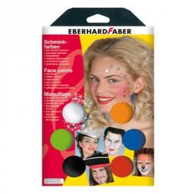 Χρώματα Προσώπου Eberhard Faber 6 τεμάχια